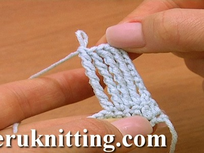 How to Work Quintuple Treble Crochet Stitch Crochet Basics Tutorial 14