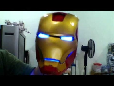 IRON MAN HELMET (DIY)make from pepakura