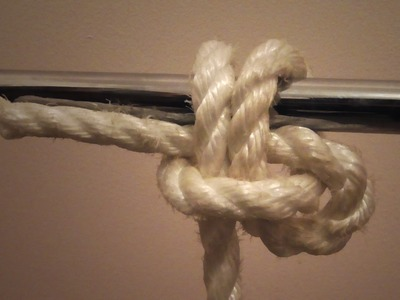 Learn How To Tie A Pedigree Cow Hitch - WhyKnot