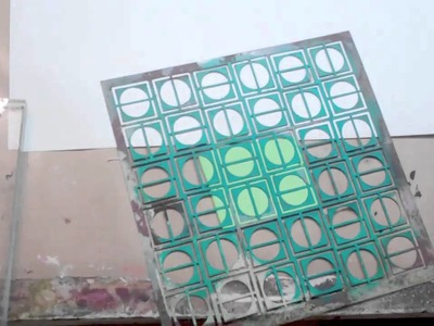 Make a Stamp From a Stencil