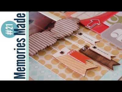 Memories Made #21 Scrapbooking Process Video: Fly