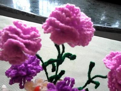 Mother's Day Crochet Flowers