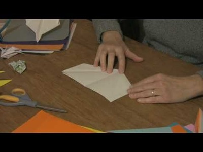 Origami & Paper Crafts : How to Make a Jet Out of a Paper Airplane