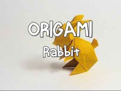 ORIGAMI Rabbit (Thanks to Jo Nakashima) | Origamieder
