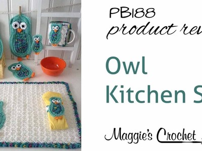 Owl Kitchen Set Product Review - PB188