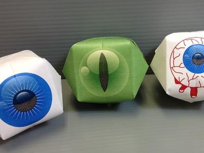 Print Your Own Origami Eyeballs for Halloween