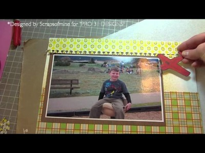 "Process Video - Scrapbook Layout ""Fly"""