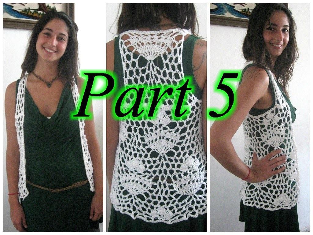 Royal Lace Vest Pt 5 - Crochet Tutorial