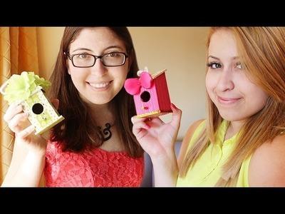 Sale Rack Crafting ft. PaperPastels - DIY Spring Birdhouses