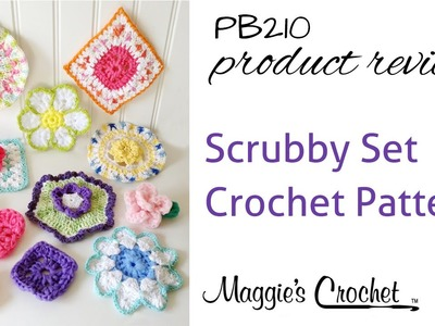 Scrubby Set Crochet Pattern Product Review PB210
