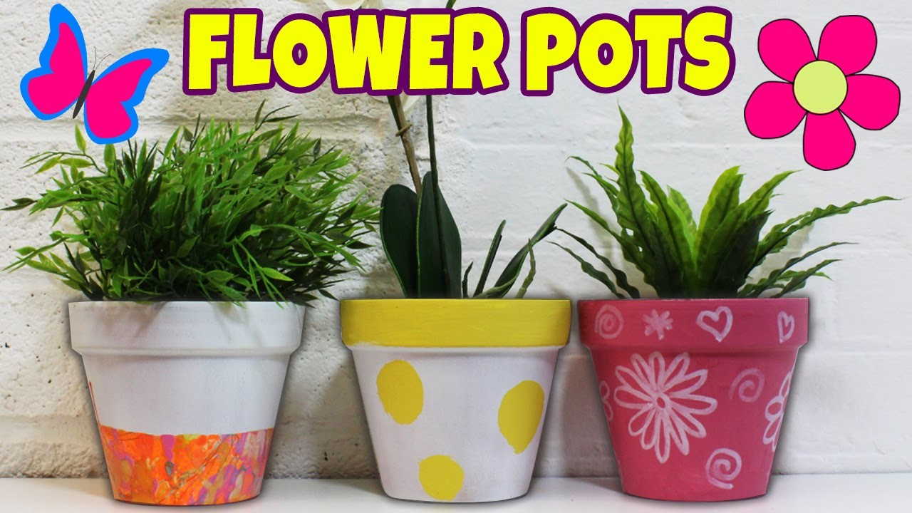 168 & Spring Painted Flower Pots DIY Summer Room Decor Ideas by ...