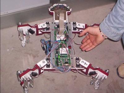 Tetrapod_03 | 1st Prototype - Basic Stamp - Inventor - Tutorial - DIY -  makerbot 3D Printing