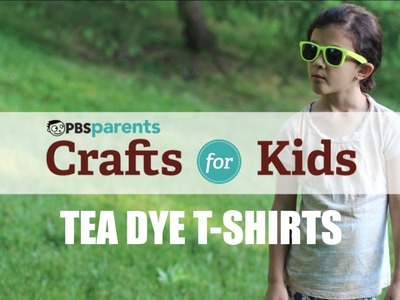 Tie-Dye with Tea! | Crafts for Kids | PBS Parents