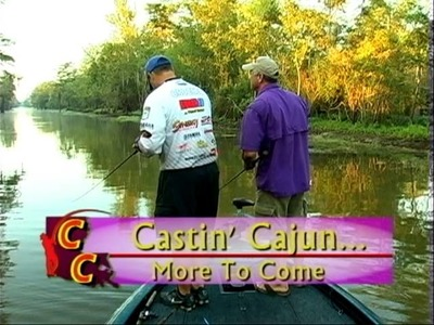 "Bass Fishing with Pro Angler, Cliff ""The Cajun Baby"" Crochet  (Part 1)"