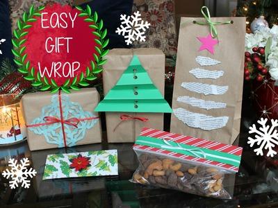 Christmas Gift Wrap Hacks: 5 Easy DIY Gift Wrapping Ideas