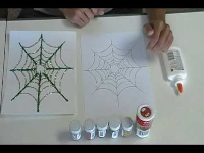 Crafty Creations #11: Creepy Crawly Pipe Cleaner Spiders & Spakling Spider Webs