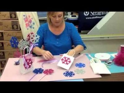 Crankin' Out Crafts -ep364 - Frozen Favor Bag (Frozen Theme)