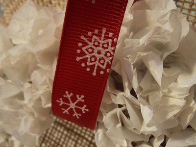 Create an Easy Tissue-Paper Wreath - DIY Home - Guidecentral