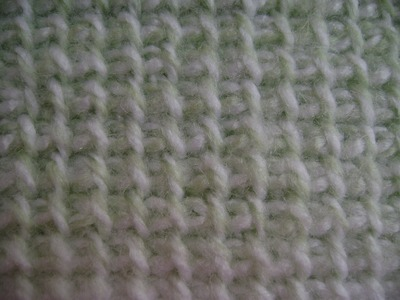 Crochet - Afghan or Tunisian Crochet Basic Stitch