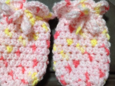 Crochet Cute Baby Mittens - DIY Crafts - Guidecentral