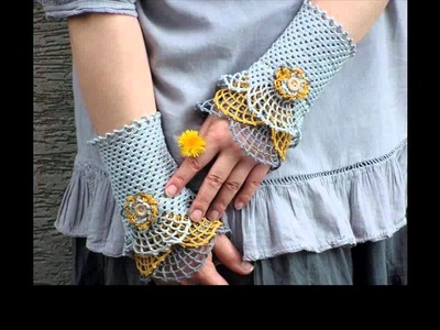 Crochet leg warmers for beginners