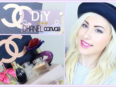 DIY CHANEL CANVAS ♡ HOME DECOR ♡ Stefy Puglisevich