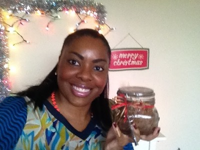 DIY Christmas Gifts: Brown Sugar Body Scrub (Day 14)