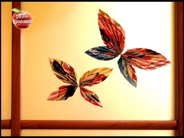 DIY Decor Ideas - How To Make Paper Butterfly - Decorate Your Room