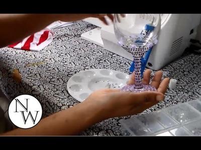 DIY Decorative Wine Glass