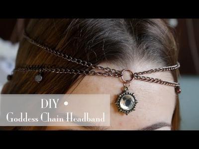 DIY • Goddess Chain Headband