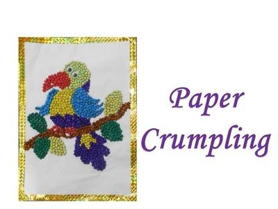 DIY - How to do Paper Crumpling