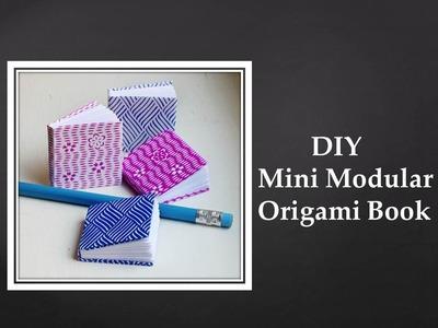 DIY - Mini Modular Origami Book (Easy)