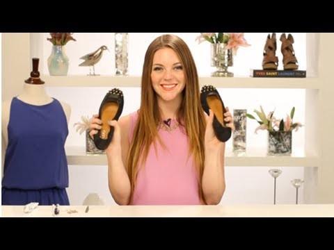 DIY: Studded Ballet Flats! DIY Fashion