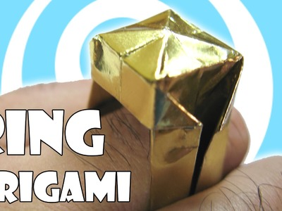 DIY: Traditional Origami Ring Tutorial