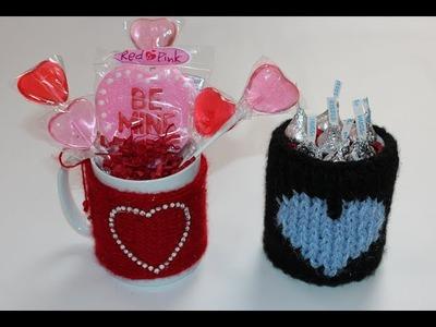 DIY Valentine's Day Gift Idea - Cozy Mug Sweater