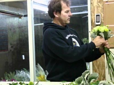 DIY - Wedding Bouquet Super Green Garden Roses - lwflowers.com