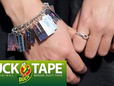 Duck Tape Crafts: How to Make a Prism Charm Bracelet with LaurDIY