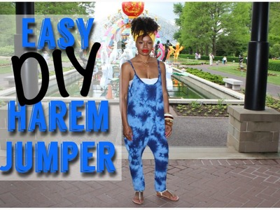 Easy DIY Harem Jumper | MariaAntoinetteTV
