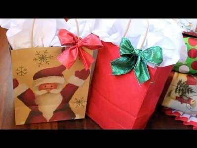 Easy Gift Bag DIY
