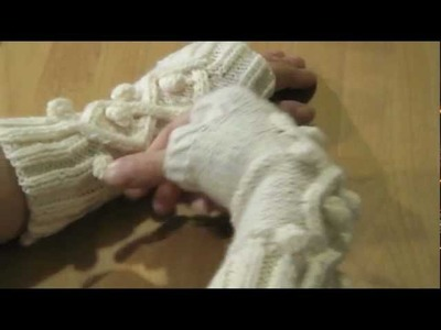 Fingerless gloves, torgvantar, fingerlösa handskar by Maggie