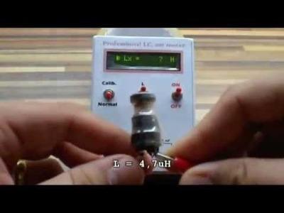 Free DIY Projects of LC, ESR Meter & Transistor Tester (LCM3 & AVR Transistor Tester)