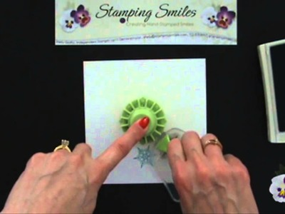 Handmade Card Making Tip: How to make a stamped wreath