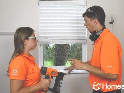 Homes.com DIY Experts: Window Moulding Tutorial