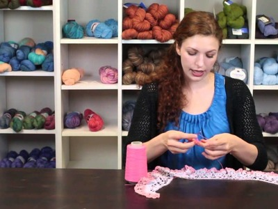 How to Crochet a Lace Scarf : Crochet Lessons