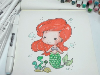 How to Draw Mermaid Easy Step by Step DIY
