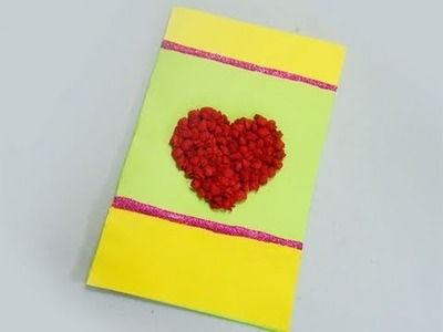 How to make a card with tissue paper - EP