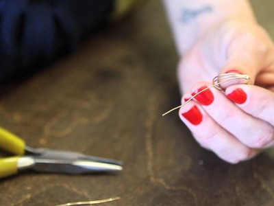 How to Make a Wire Wrapped Ring Base