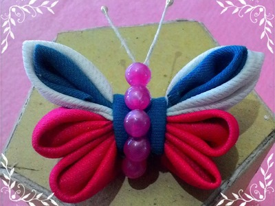 How to make handicraft of patchwork like butterfly-DIY craft