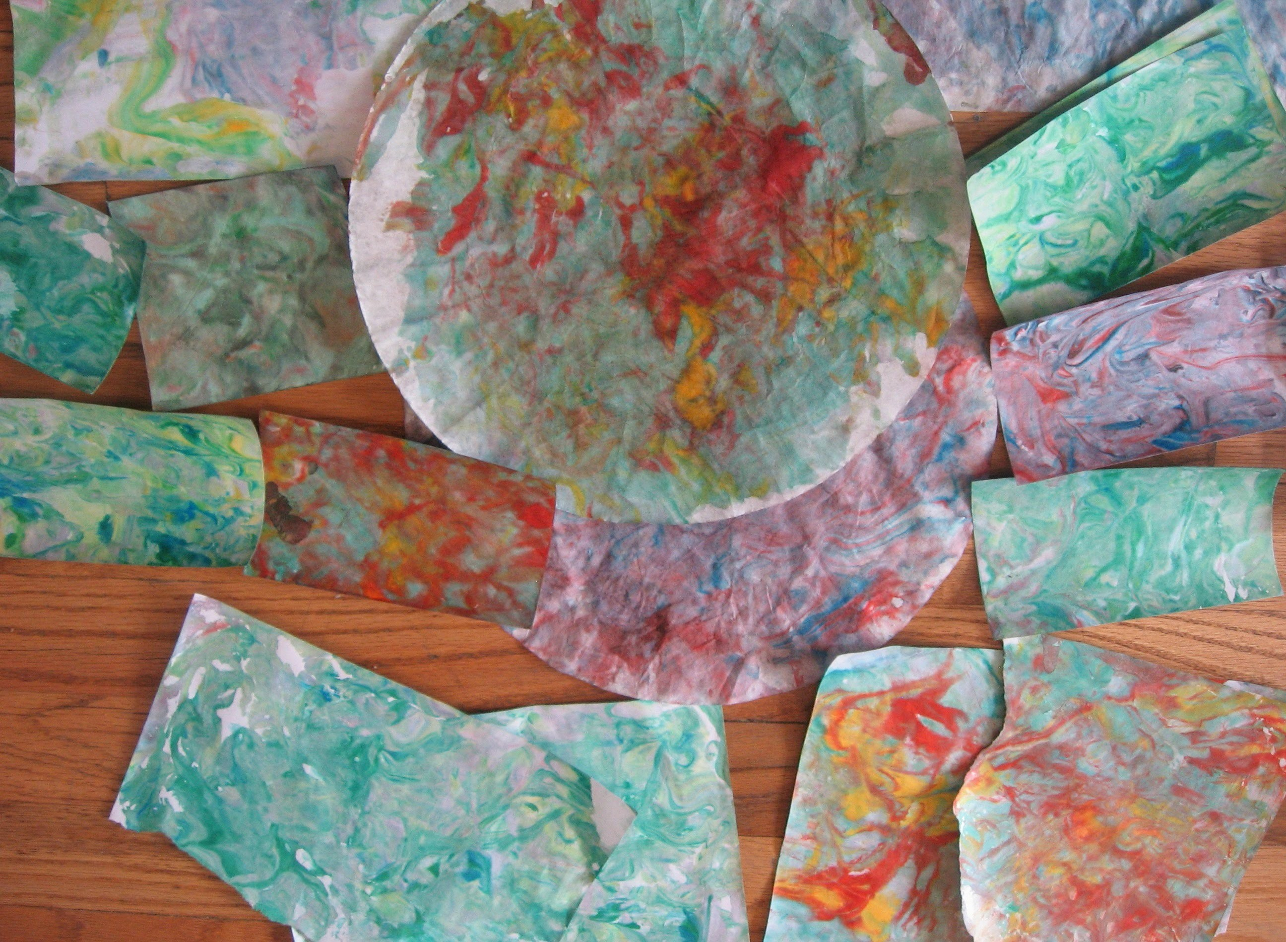How to make marble paper with shaving Cream. DIY Paper Marbling ( tutorial) ( inspired by Michele S)
