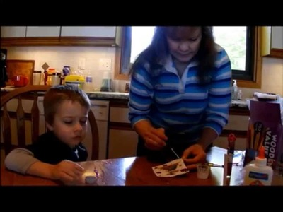 Kid Crafts: How To Make A Homemade Sailboat Craft
